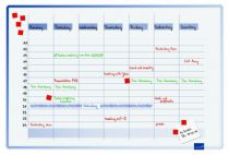 Communication visuelle : Planning