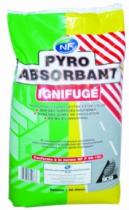 Essuyage et absorbant : Pyro absorbant ignifugé
