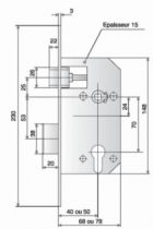 COFFRE LARD REGL AXE 40 D455PORTAIL