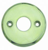 Accessoire pour bouton et béquille : Ronde - épaisseur 3 mm