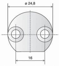 GACHE VAC. H/B D.24,7 A TOUPILLER