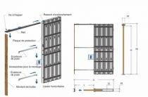 CHASSIS SIMPLE GALANDAGE  700X2030