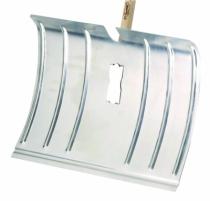 Outil de jardin : Poussoir aluminium