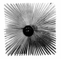 Ramonage : Hérisson carré acier