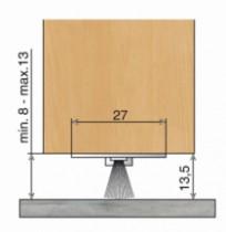 Isolation : Aluminium à brosse - DBS invisible