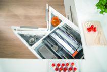 Agencement de cuisine : Blum intivo - SPACE-CORNER