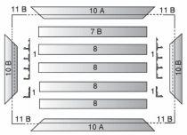 Ventilation : Alu anodisé naturel
