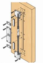 Coulissant porte intérieure bois : Raidisseur pour portes coulissantes