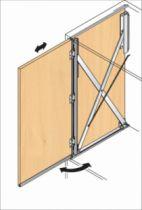 Porte rentrante de meuble : Turnaway 25/X2 - 25 kg