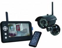 """Vidéo surveillance : Kit caméra numérique sans fil + écran 7"""""""