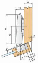 Rotation : Ouverture 94° - angle + 20°