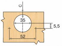 Rotation : Série Intermat - 45°/ - 30°