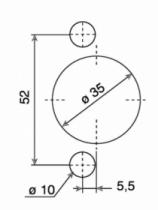 Rotation : Série 800 - amortisseur intégré Silentia