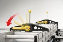 Echelle et accessoire : Paire fixe échelles de galerie à clés