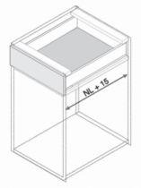 Gamme tiroir LÉGRABOX : Set stabilisation latéral LÉGRABOX