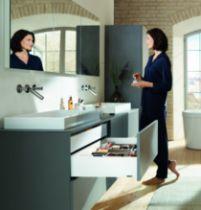 Gamme tiroir LÉGRABOX : LÉGRABOX hauteur K : 144 mm - blanc soie mat
