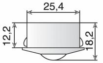 SPOT LED ALFA L1 ENC/APP D30 1W