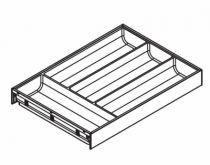 Gamme tiroir LÉGRABOX : AMBIA-LINE design acier - hauteurs M et K