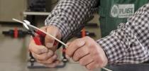 Pince coupante diagonale : Pince pour le plastique