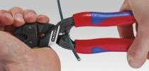 Pince coupante diagonale : Coupe-boulons compact CoBolt