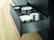 Gamme tiroir LÉGRABOX : LÉGRABOX hauteur C : 193 mm - gris orion mat