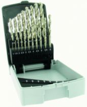 Foret à métaux : Coffret forets HSS rectifiés
