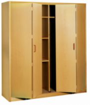 Coulissant pliant meuble bois : Multifold 30W / 30 kg