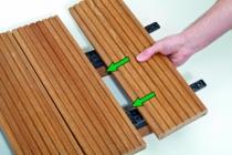 Fixation terrasse bois : Spax Stick