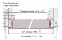 UNIVER CF 1V.REV.  900X2050 BATI Z