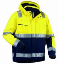 Vêtement de travail : Veste haute visibilité hiver