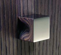 Garniture contemporaine : Bouton Cube