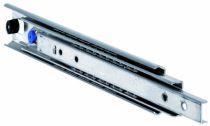 Coulisse à bille et bois : Sortie totale DZ 5321 / 70 - 150 kg