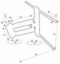 Support pour téléviseur LCD \ plasma : Led 2