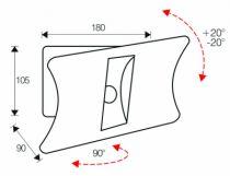 Support pour téléviseur LCD \ plasma : Monosolution
