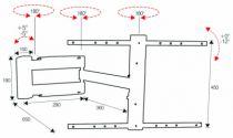 Support pour téléviseur LCD \ plasma : Led 3