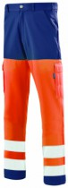 PANTALON ORANGE FLUO MARINE 36/38