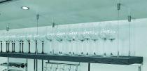 Support baldaquin : Système de suspension à câble métallique