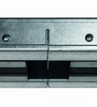 Ferrure de porte coulissante à galandage : Kit transformation 2 vantaux avec habillage bois