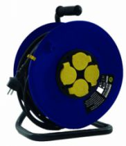Enrouleur - prolongateur : Série Iwatts gamme import - câble H07 RN-F avec disjoncteur thermique