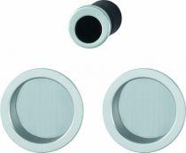 Serrure de porte coulissante : Set porte coulissante aluminium - aveugle - modèle 4920