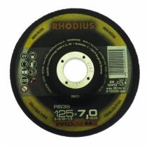 Meule d'ébarbage : RS38 - acier/inox