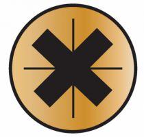 Vis à bois aggloméré : Yellox - filetage partiel - Spax standard