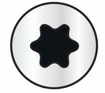 Vis à bois aggloméré : Coffret 1055 vis bois aggloméré zingué blanc filetage total et partiel