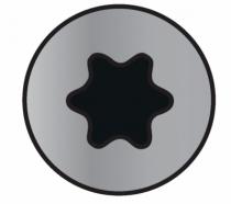 Visserie pour charpente - bardage - toiture : Traitement Wirox - tête fraisée - filetage partiel - T-Star Plus