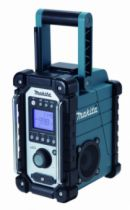 Batterie - chargeur - lampe électro-portatif : Radio de chantier DMR 107