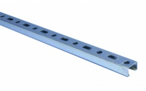 RAIL ZINGUE L27MM HT18MM 2M00