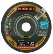Meule de tronçonnage : XT100 - gamme Céramicon acier/inox HydroProtect