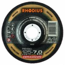 Meule d'ébarbage : RS480 - gamme Céramicon acier/inox