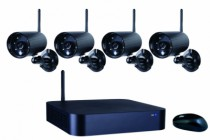 Vidéo surveillance : Kit vidéo surveillance sans fil - WDVR740S
