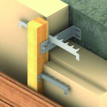 Connecteur métallique assemblage bois : Vis bois pour connecteur - CSA
